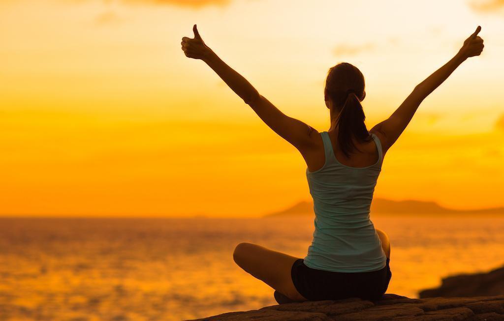 Be Free - Women at Sunrise